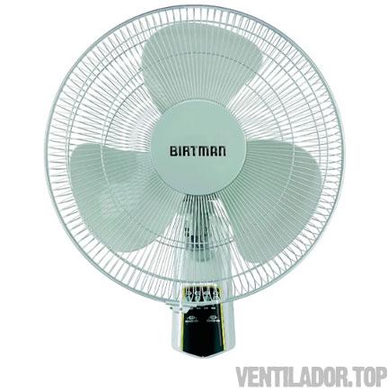 Ventilador De Pared con Control Remoto Birtman