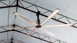 Ventiladores industriales de techo