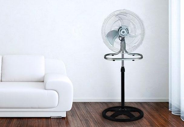 beneficios de los ventiladores de pie