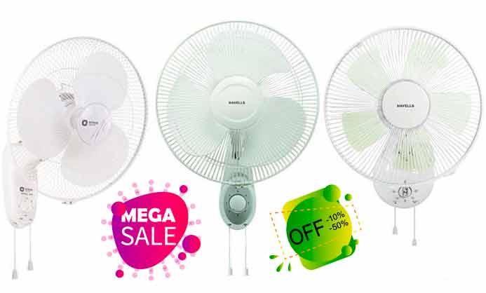 los mejores precios y ofertas en ventiladores de pared