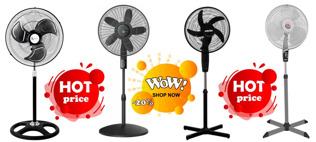 precios de ventiladores de pedestal