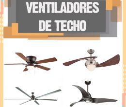 Ventiladores de techo. El mejor ventilador de techo para comprar este 2020