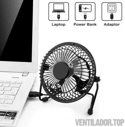 Mini Ventilador Usb Metálico