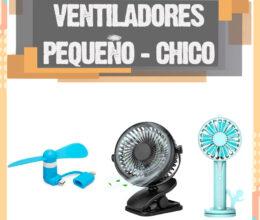 Ventiladores pequeños – Los mejores mini ventiladores chicos para comprar este 2020