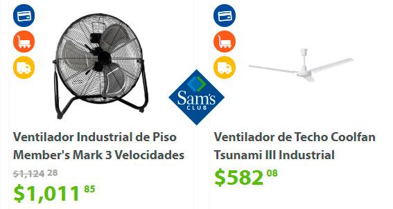 precio y ofertas en ventiladores de sams club