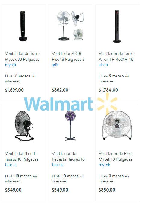 precio y ofertas en ventiladores walmart