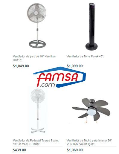 precios y ofertas de ventiladores en famsa