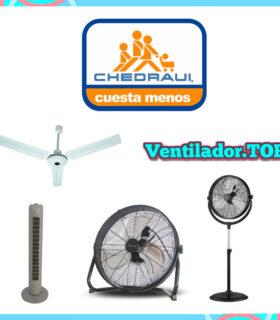 Ventiladores Chedraui